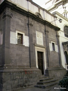 Photo 10: Naples, Pontano chapel, façade.