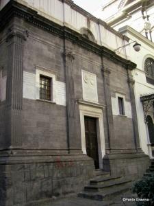 Photo 10: Naples, Pontano chapel, façade.
