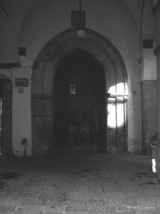 Photo 19:   Naples, Palace of Philip D'Anjou, marble portal.
