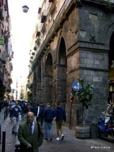 Photo 18: Naples, Palace of Philip D'Anjou, arcade.