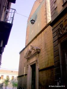 Photo 4: Naples, church of San Pietro a Majella, façade.