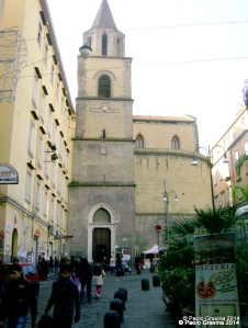 Photo 3: Naples, church of San Pietro a Majella, eastern side with the bell tower.